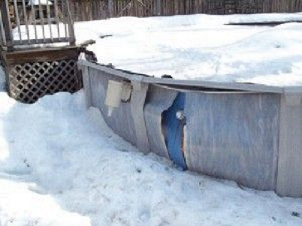 Winter Repair Tips for Above Ground Pools
