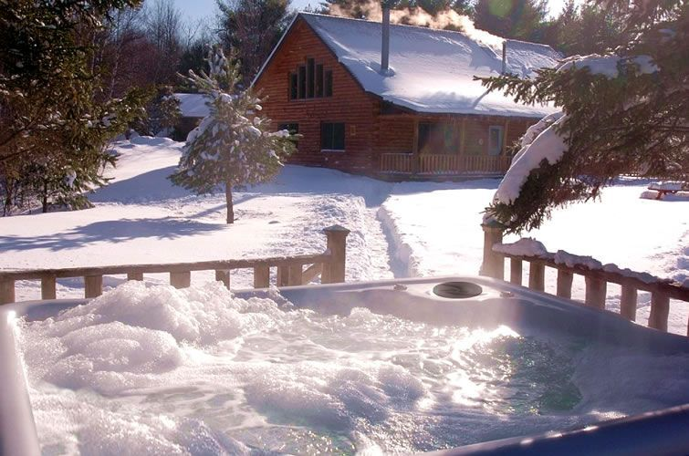 Enjoying Your Hot Tub During the Winter Months